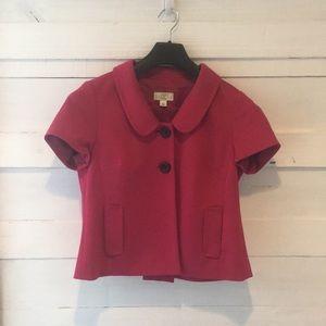 Ann Taylor Loft short sleeve blazer
